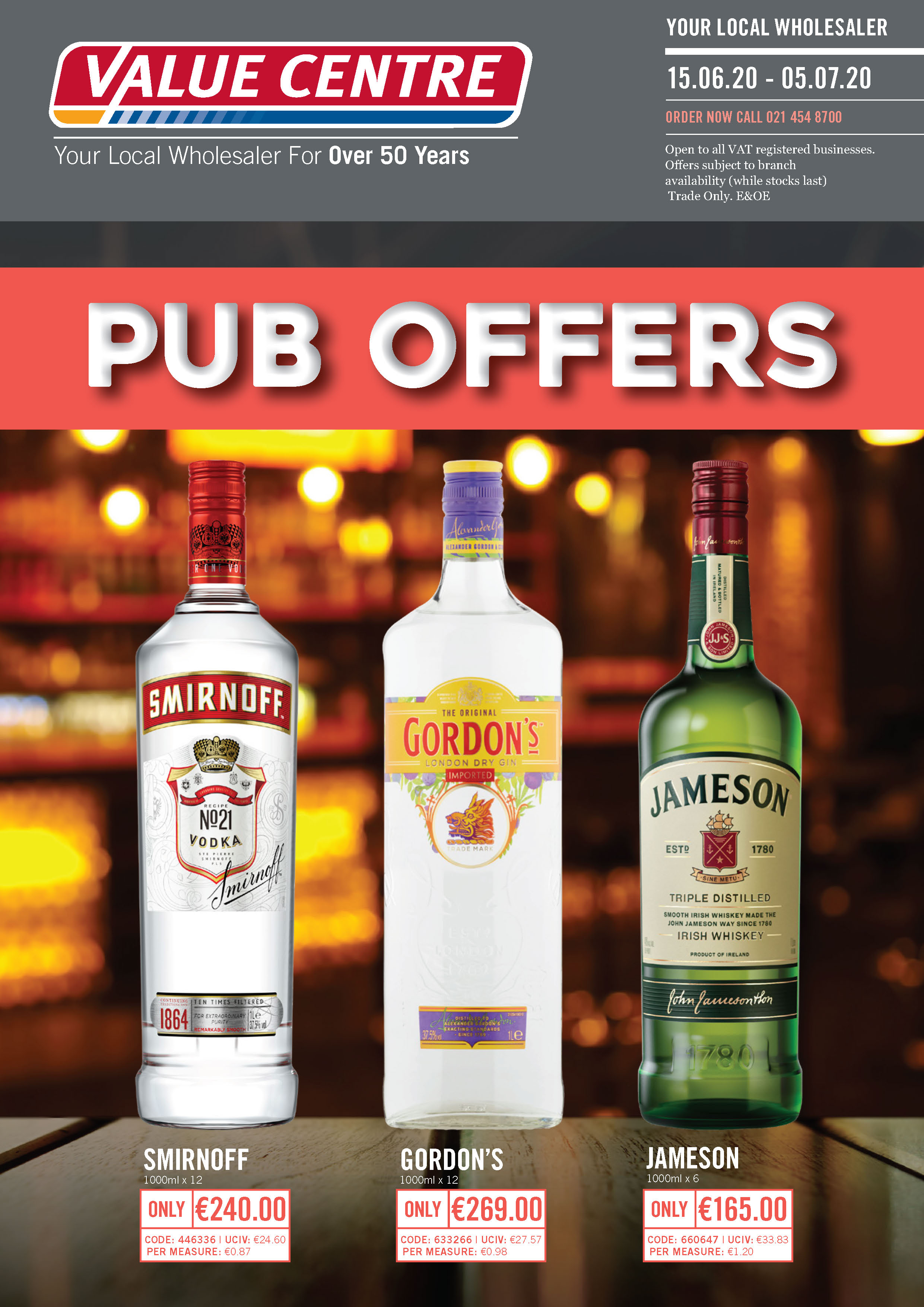 Pub Offers